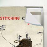 Napínací textilní nástěnný rám 100x200 cm profil 34 mm A-Z Reklama CZ