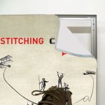 Napínací textilní nástěnný rám 100x300 cm profil 34 mm A-Z Reklama CZ