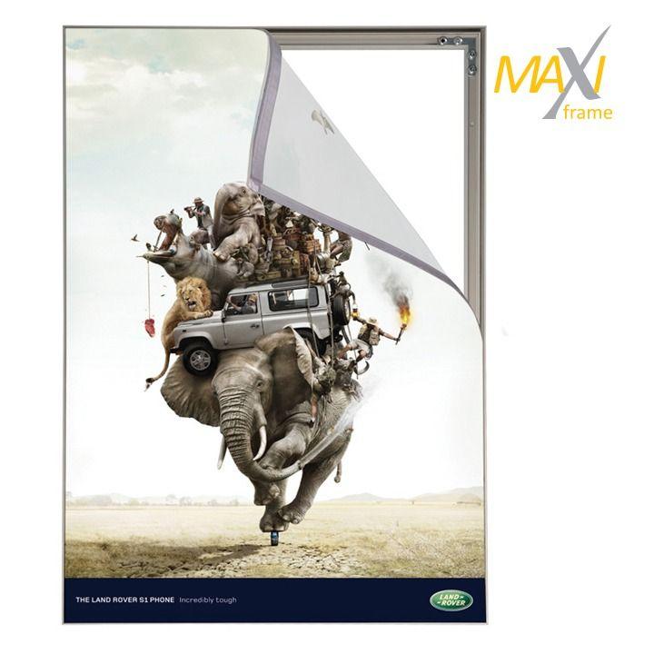 Napínací textilní nástěnný rám 50x100 cm profil 15 mm A-Z Reklama CZ