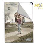 Bay Maxi na stěnu - 50x100