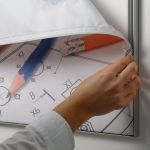 Napínací textilní nástěnný rám B2 profil 15 mm A-Z Reklama CZ