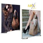 Napínací textilní oboustranný rám 100x200 cm profil 50 mm A-Z Reklama CZ