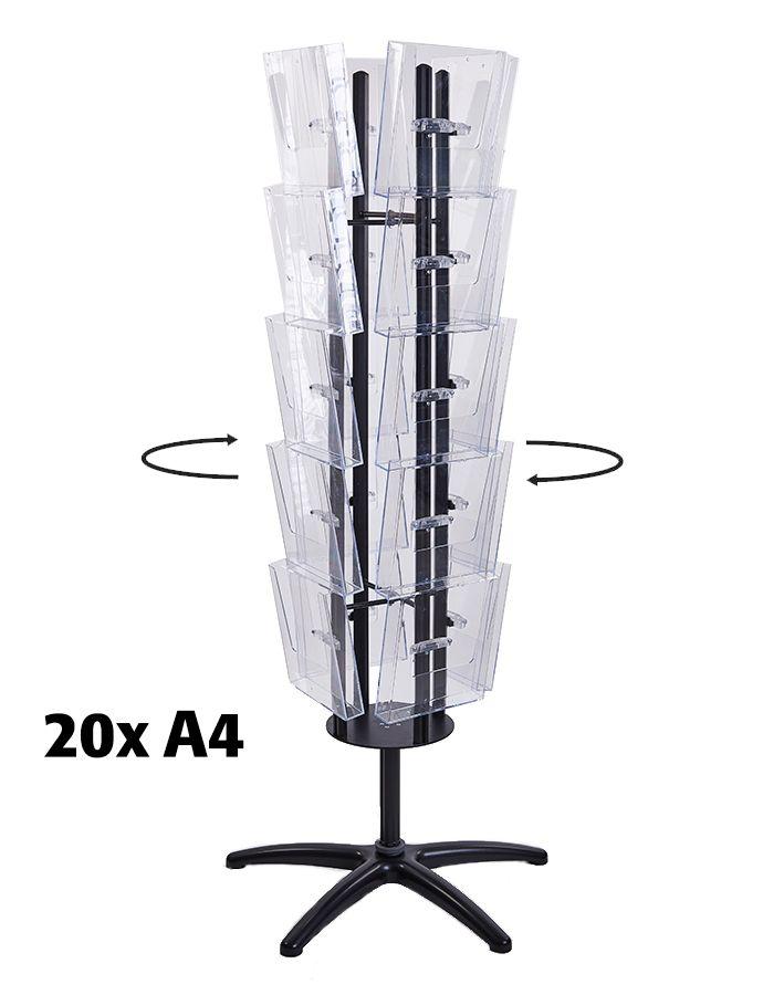 Čtyřstranný Multiside 20x A4 - Černý