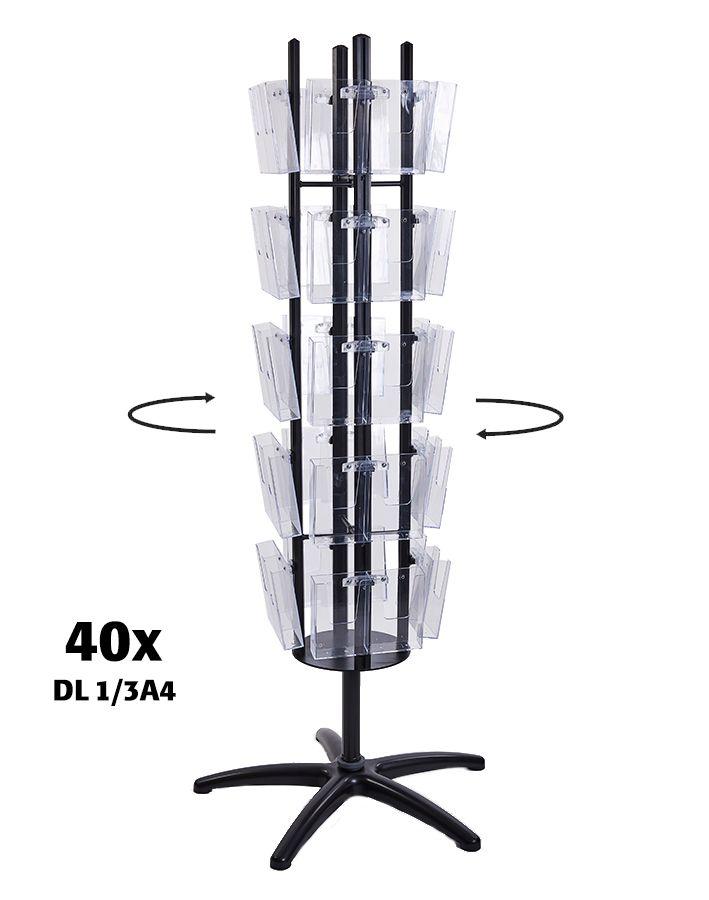 Čtyřstranný Multiside 40x DL - Černý