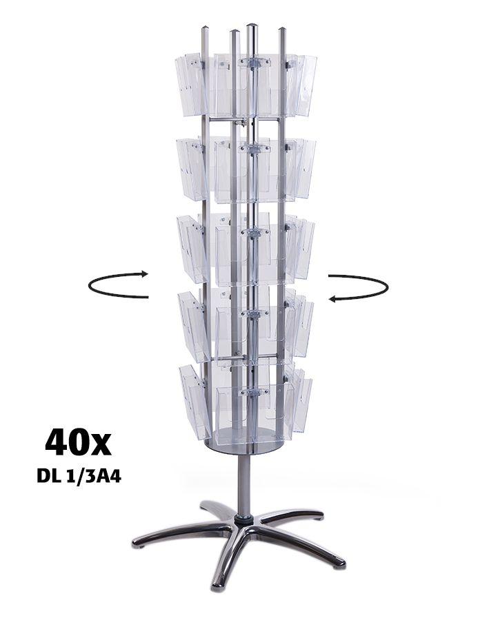 Čtyřstranný Multiside 40x DL - Stříbrný