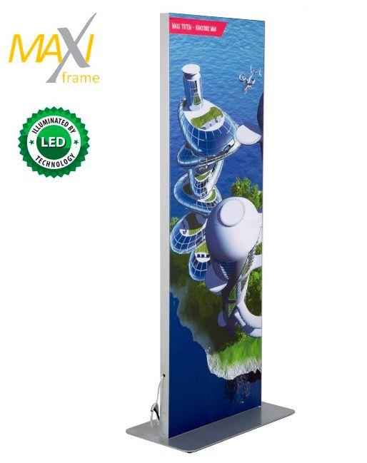 Maxi Frame LED světelný oboustranný Totem 2x A1 A-Z Reklama CZ