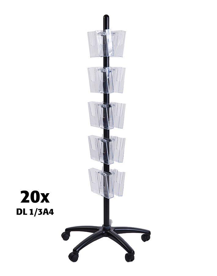 Pojízdný Multiside 20x DL - Černý