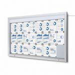 SCT PREMIUM Venkovní prosvětlená LED vitrína 24xA4 A-Z Reklama CZ