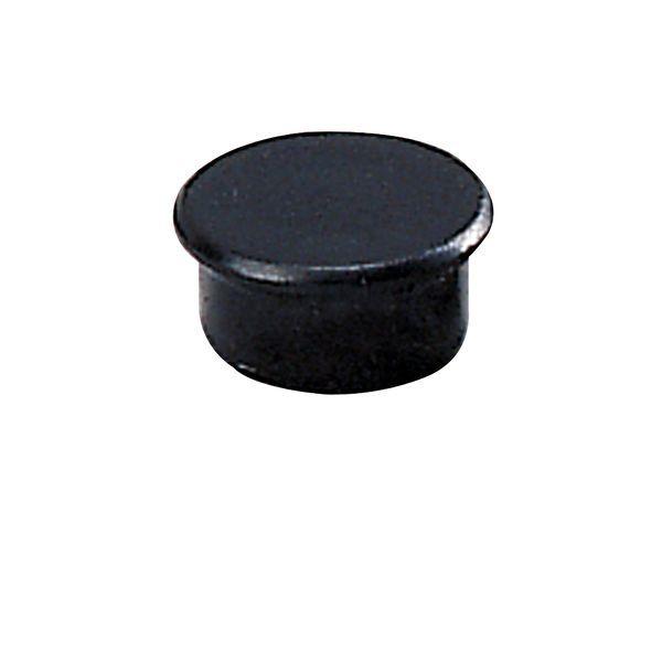 Dahle kancelářský magnet 13 mm - Černý - Balení 50 ks