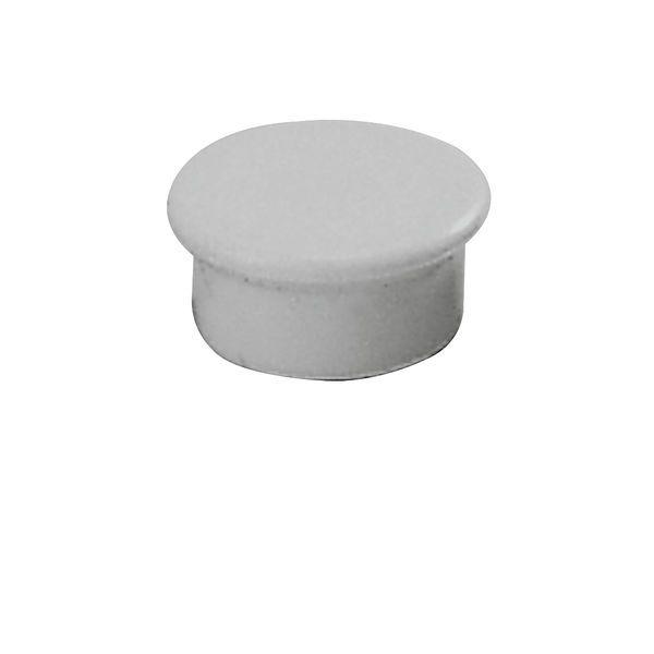 Dahle kancelářský magnet 13 mm - Šedý - Balení 50 ks