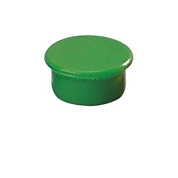 Dahle kancelářský magnet 13 mm - Zelený - Balení 50 ks