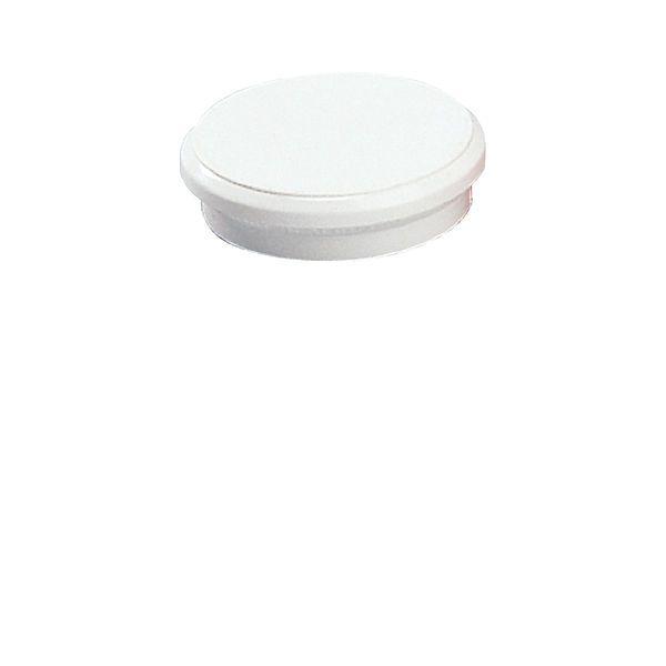Dahle kancelářský magnet 24 mm - Bílý - Balení 50 ks