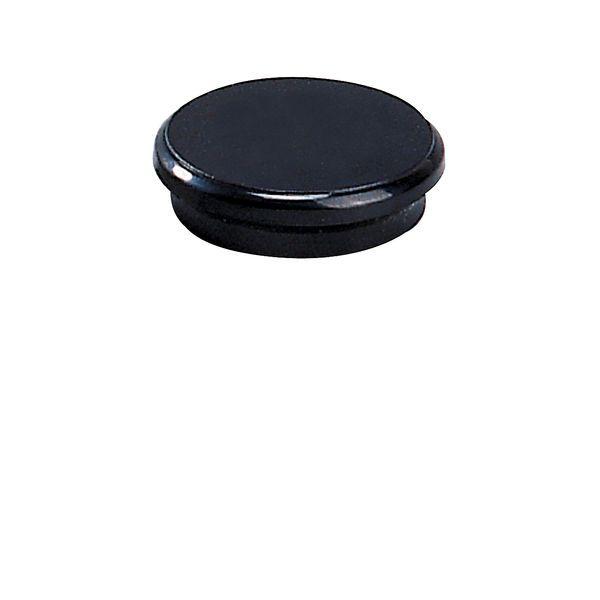 Dahle kancelářský magnet 24 mm - Černý - Balení 50 ks