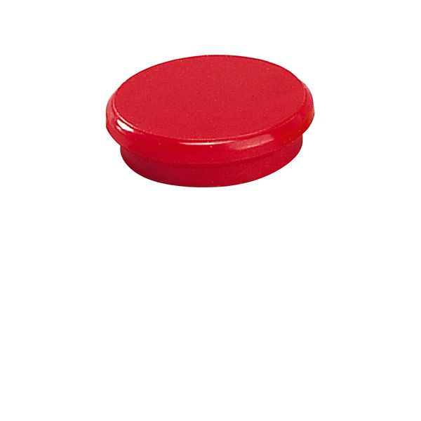Dahle kancelářský magnet 24 mm - Červený - Balení 50 ks