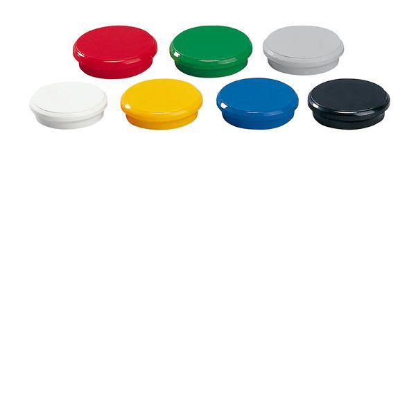 Dahle kancelářský magnet 24 mm - mix barev - Balení 50 ks