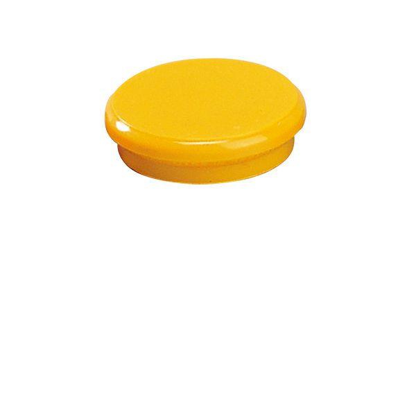 Dahle kancelářský magnet 24 mm - Žlutý - Balení 50 ks