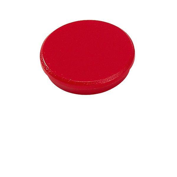 Dahle kancelářský magnet 32 mm - Červený - Balení 50 ks