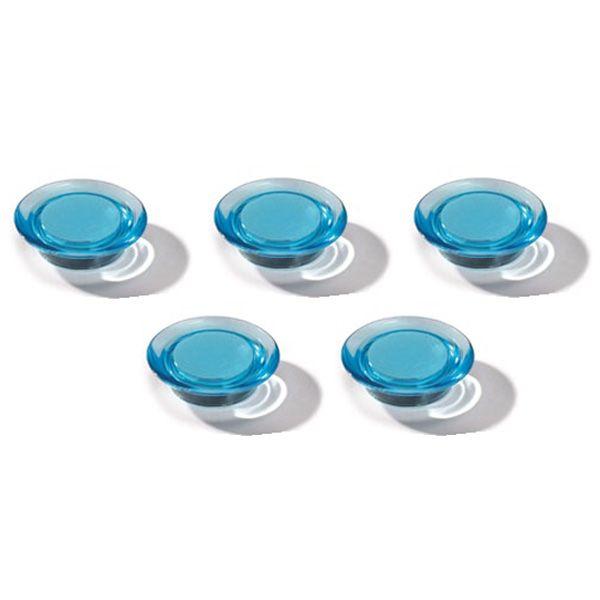Dahle magnet Ozdobný 30 mm - Modrý - Balení 50 ks