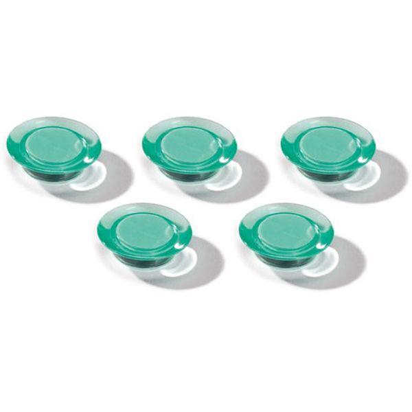 Dahle magnet Ozdobný 30 mm - Zelený - Balení 50 ks