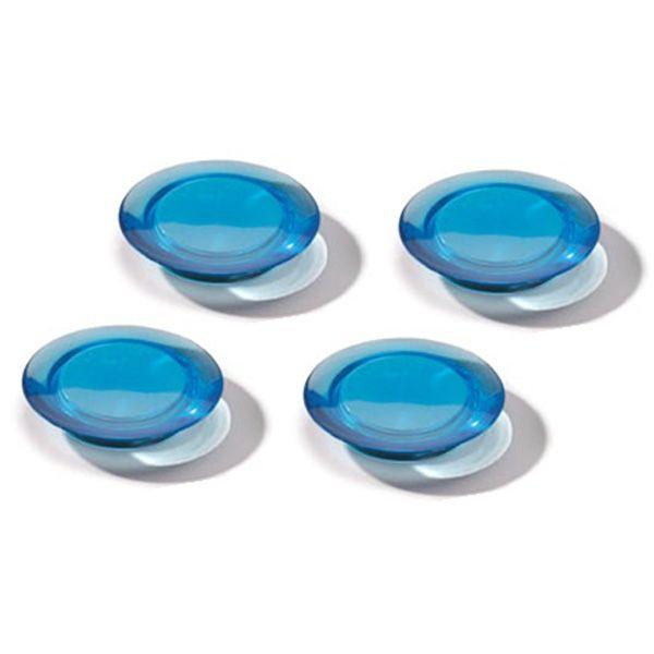Dahle magnet Ozdobný 40 mm - Modrý - Balení 40 ks