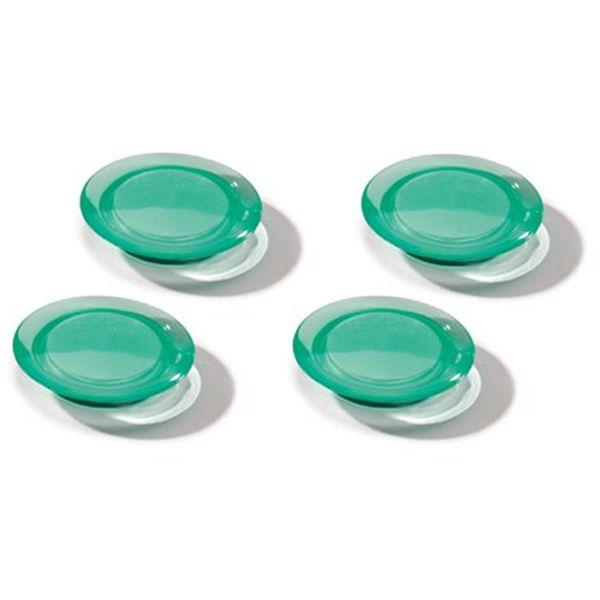 Dahle magnet Ozdobný 40 mm - Zelený - Balení 40 ks