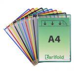 Kapsy Tarifold A4 - 10 ks - mix barev