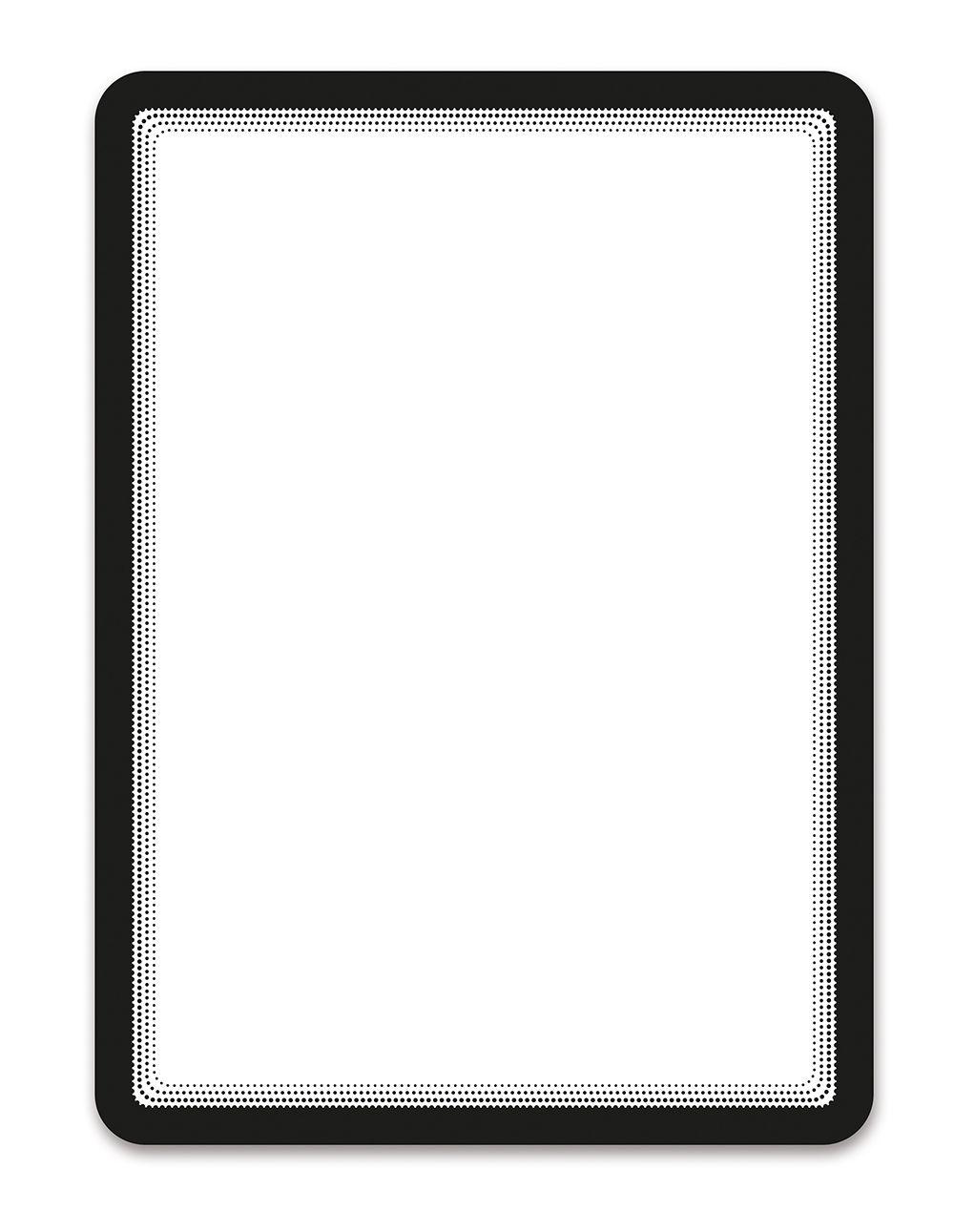 Samolepící kapsa A4 (sada 2ks), nepermanentní, Černá TARIFOLD