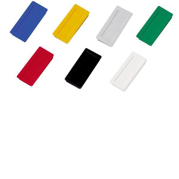 Dahle kancelářský magnet 23x50 mm - mix barev - Balení 30 ks