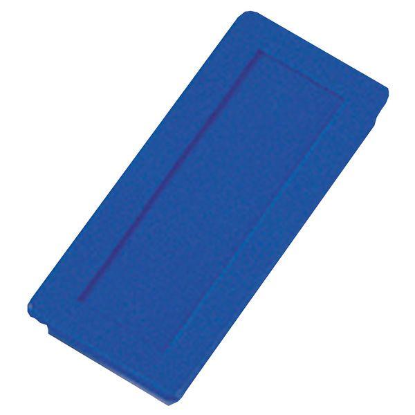 Dahle kancelářský magnet 23x50 mm - Modrý - Balení 30 ks