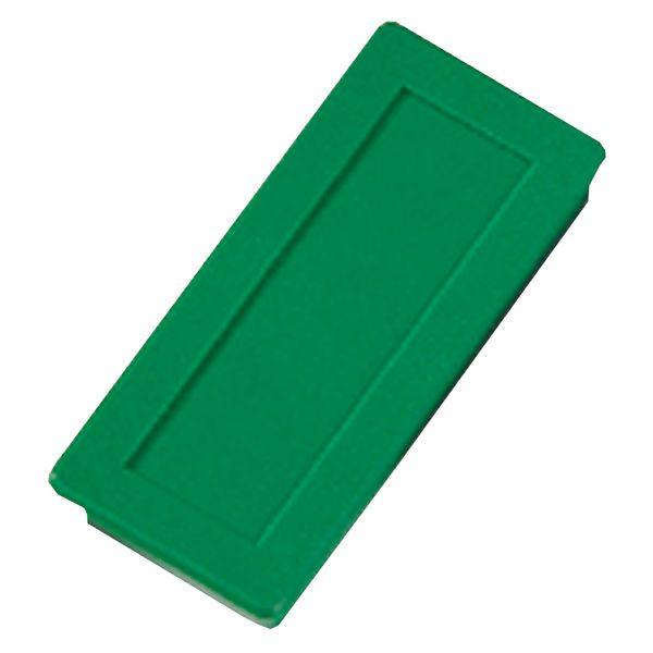 Dahle kancelářský magnet 23x50 mm - Zelený - Balení 30 ks