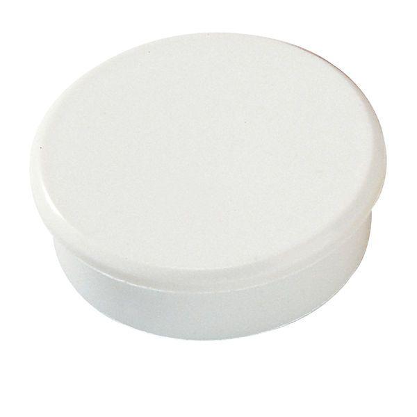 Dahle kancelářský magnet 38 mm - Bílý - Balení 30 ks