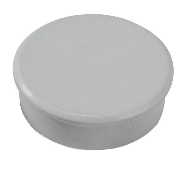 Dahle kancelářský magnet 38 mm - Šedý - Balení 30 ks
