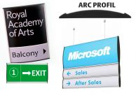 Perfect Sign System Arc Profil