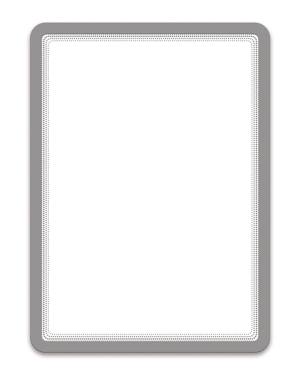 Magnetická kapsa Tarifold A4, 2ks, Stříbrná