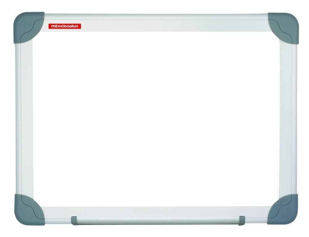 Magnetická tabule 120x80, hlíník. rám Future, stříbrný