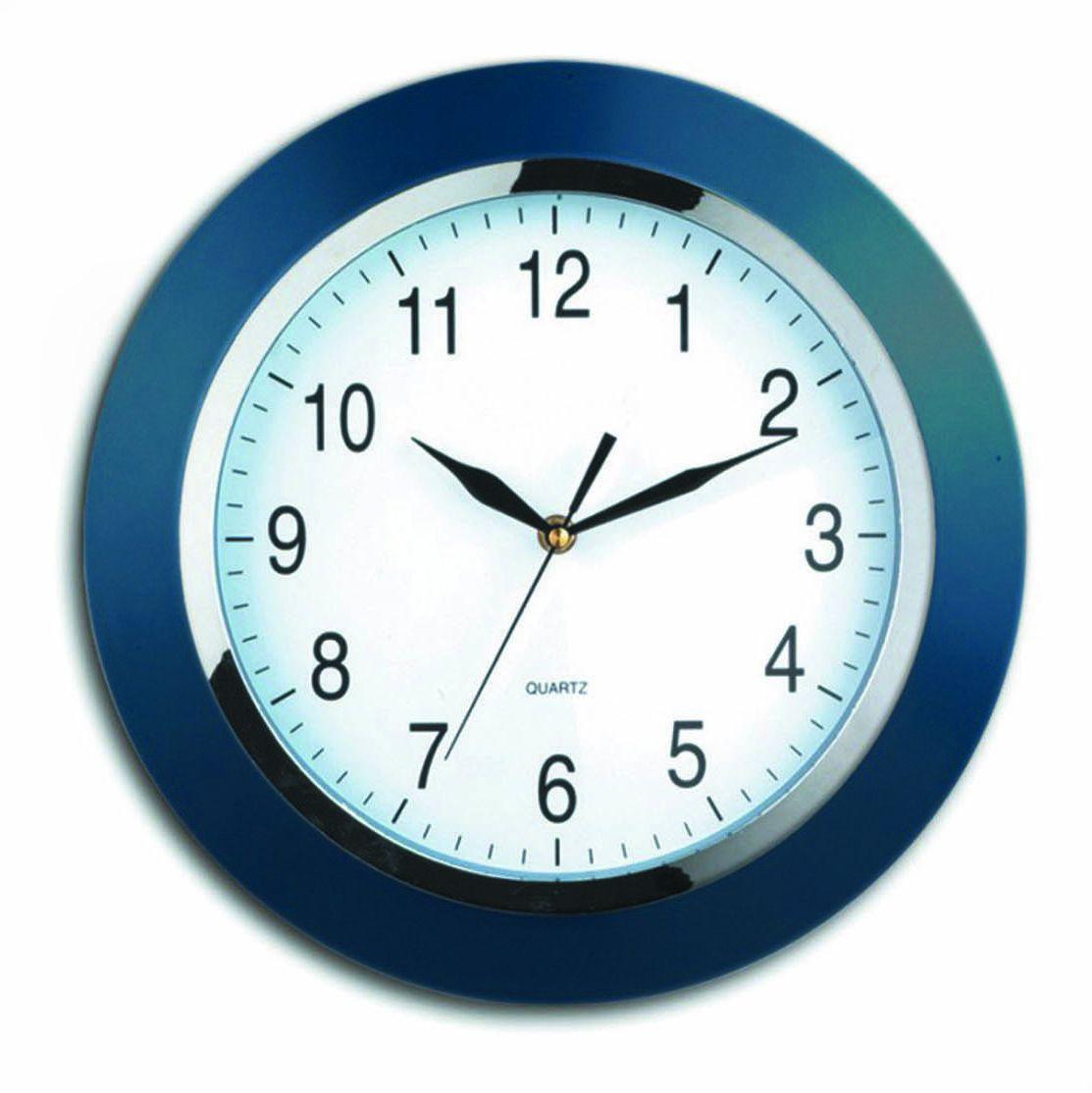 Nástěnné hodiny Vienna, 33 cm, modré