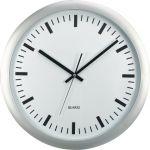 Nástěnné hodiny XL, 45,5 cm, stříbrné