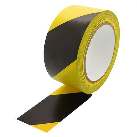 Tesaflex - značkovací páska, 33 m x 50 mm, PVC 180 µm, černo-žlutá