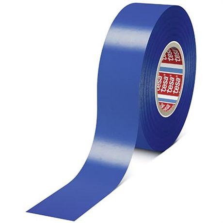Tesaflex - značkovací páska, 33 m x 50 mm, PVC 180 µm, modrá
