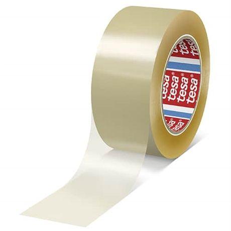 Tesaflex - značkovací páska, 60 m x 50 mm, PVC 65 µm, transparentní