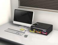 Zásuvkový box nízký, A4+, 4 zásuvky, duhový Exacompta