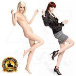 Dámská figurína Fame - Tělová póza 5