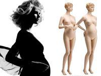 Těhotné figuríny