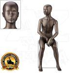 Dětská abstraktní figurína 10 let póza 1
