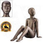Dětská abstraktní figurína 6 let póza 2