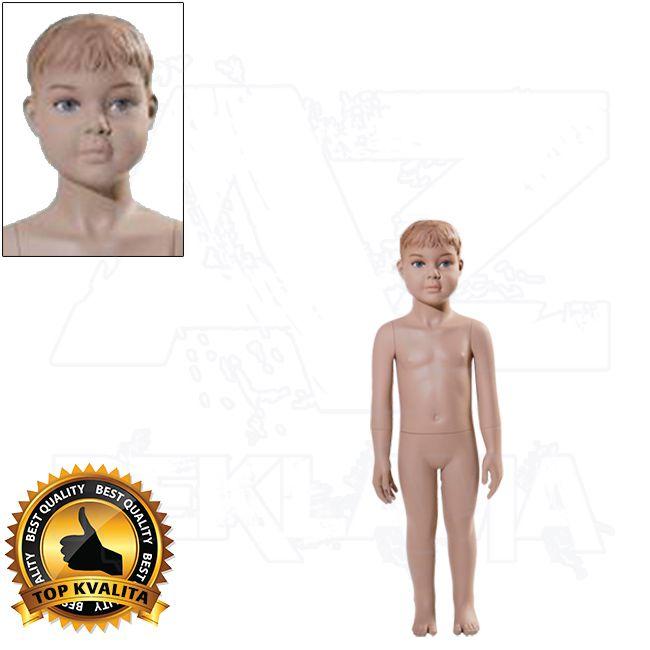 Dětská figurína - 2 roky s prolisovanými vlasy