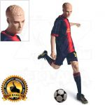 Pánská figurína Sport Fotbalista 2 - Tělová