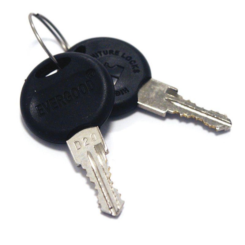 Klíče D20 pro vitrínky a nástěnky, bal. 10 ls A-Z Reklama CZ