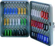Kovová schránka na 48 klíčů, 180x250x80 mm, šedá DONAU