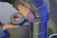 Opravná páska Extra Power Universal, 10 m x 50 mm, textilní, silně lepicí, stříbrná, balení 6 ks tesa